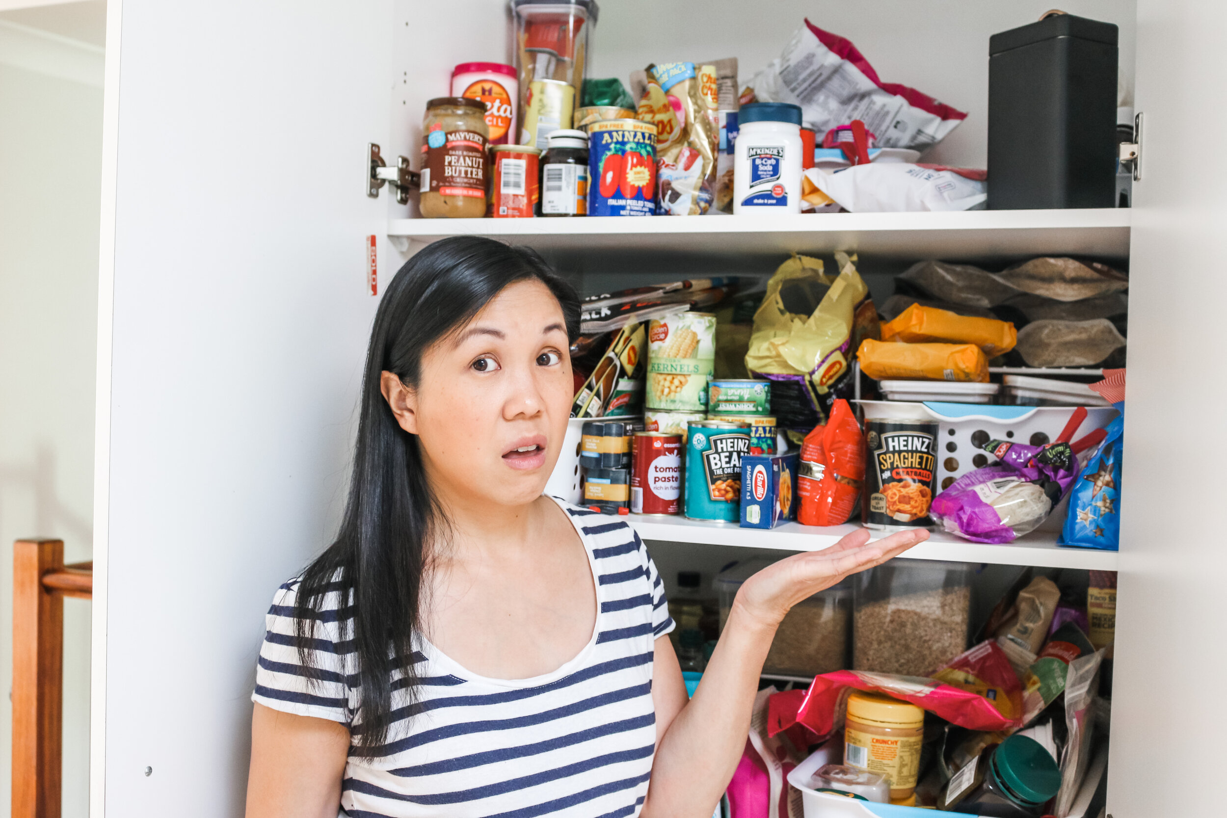 How to clean out your pantry – organising pantry overflow