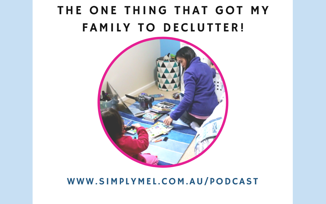 how to get your family to declutter