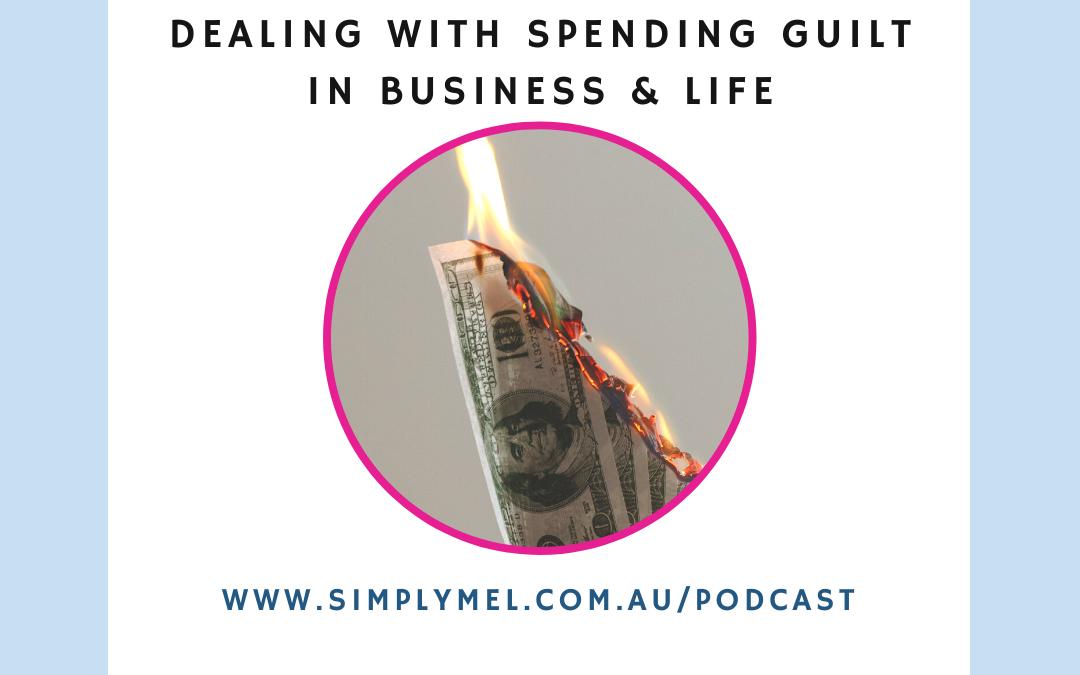 guilt about spending money